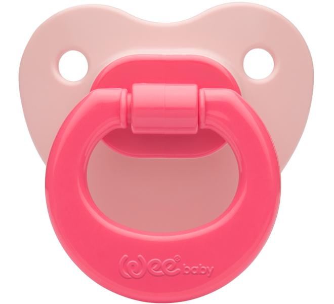Wee Baby Renkli Damaklı Emzik Pembe No:1 Kod: 841