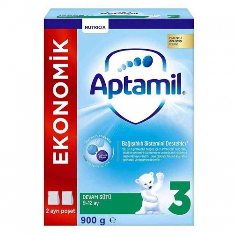 Aptamil Pronutra 3 Çocuk Devam Sütü 900 Gr