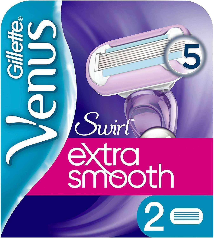 Gillette Venüs Venus Swirl Yedek Kadın Tıraş Bıçağı - 2li
